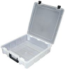 CASE, PLASTIC, 1 COMPARTMENT -- 83K0633