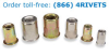 Rivet Nuts -- AHC-1032-130 - Image