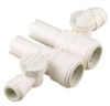 Quick-Connect Dual Stem Body Manifold - Polysulfone -- 3584B - Image