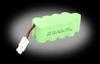 10.8V 1000mAh Ni-MH Battery: P-51D, 3D, FW-190 -- 0VA-PKZ1027 - Image