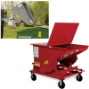 MECO All-Welded Self-Dumping Steel Hoppers -- 5694200