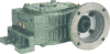 Casting Iron Worm reducers Inch Dimension -- Series WDKOY - Image