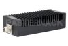 High Power 200 Watt RF Load Up to 3 GHz with N Male High Power Black Anodized Aluminum Heatsink -- PE6230 -Image
