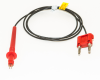 Dual Tip Probe Test Lead To Double Banana -- BU-7042-F-@