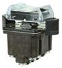 TP Series Rocker Switch, 4 pole, 3 position, Screw terminal, Flush Panel Mounting -- 4TP12-10 -Image