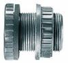 Bulkhead connector, PVC, 1