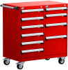 Mobile Compact Cabinet with Partitions -- L3BED-3431L3B -Image