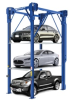 BendPak 14,000lb Capacity 4-Post Parking Lift 3 Levels -- 120243