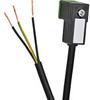SOLENOID CBL 8mm DIN 0-230V 5m (16.4ft) 3-WIRE PIGTAIL PVC -- SC8-5