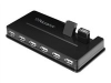 10PORT USB 2.0 HUB AC ADAPTER INCLUDED -- AUH1210F - Image