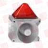 PFANNENBERG 23372105055 ( 15 JOULES FLASHING STROBE BEACON WITH 80 TONE, 4-STAGE SOUNDER, 120 DB (A), 187 - 255 VAC, GREY HOUSING, RED LENS ) -- View Larger Image