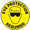 Eye Protection Required Slip-Gard Floor Sign -- SGN832