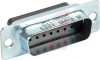 CONNECTOR,D-SUBMINIATURE,STR PLUG WITH MACHINED CRIMP CONTACTS,15 PIN CONTACT -- 70152745