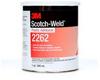 3M Scotch-Weld 2262 Plastic Adhesive - Clear Liquid 1 qt Can - 20392 - -- 021200-20392