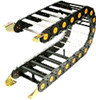 Nylatrac Modular Plastic Cable And Hose Carriers -- TSC Series