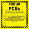 Caution - Contains PCBs Label -- SGN680