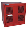 Tool Shelf Cabinets With Mess Doors - Image