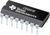 CD4051B CMOS Single 8-Channel Analog Multiplexer/Demultiplexer with Logic-Level Conversion -- CD4051BE -Image