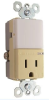 Combination Switch/Receptacle -- NTL-81TRICC6 -- View Larger Image