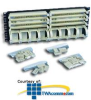 Panduit® Pan-Punch Category 5e 19in. Rack Mount Panel.. -- P110B1004R4WJ