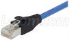 Shielded Cat. 5E Plenum Cable, RJ45 / RJ45, 5.0 ft -- TRD815SPL-5