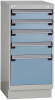 Stationary Compact Cabinet with Partitions -- L3ABG-3441L3C -Image