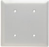 Blank Plate -- Strap Mounted, Two Gang, Aluminum -- SA24 - Image