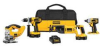 DEWALT 18V 4 Tool Combo Kit -- Model# DCK437C