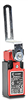 Lever Hinge Interlock Safety Switch: plastic body and head -- SP2K61X11