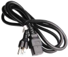 10ft NEMA 5-15P USA 3 pin Plug to C19 SJT Power Cord -- SF-1218-10B-14 - Image