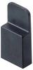 2 Pos. Female Jumper Socket, Handle Shunt, Black -- M7967-46 -- View Larger Image