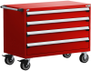 Heavy-Duty Mobile Cabinet, with Partitions -- R5BHG-3019 -Image