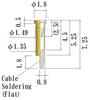 Small Size Socket Pin -- JSC0030-GG -Image