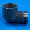 PVC Elbow I-Ft for Flexible Pipe -- 24060