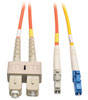 Fiber Optic Mode Conditioning Patch Cable (LC Mode Conditioning to SC), 3M (10-ft.) -- N425-03M