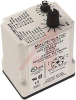 Relay;E-Mech;Timing;Interval;DPDT;Cur-Rtg 10A;Ctrl-V 120AC/DC;Socket Mnt;8 Pin -- 70175220 - Image