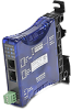 ETHERNET MODULE FOR GS DRIVE, 100MB, DIN RAIL MOUNT, COMPACT FORM FACTOR -- GS-EDRV100 - Image
