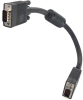 1ft HD15 SVGA M/M Monitor Cable with Ferrite Bead -- VG10-01 - Image