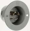 Locking Flanged Male Base Inlet -- 4716-SS