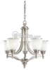 Five-Light Chandelier Fixture -- 31350-965