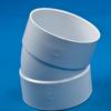 White PVC 1/16 Bend Ell -- 31014 - Image