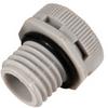 Dome Vent Plug, M12 thread, Polyamide 6 -- RVP15-M12-NM -Image