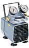 Gast DOA-P504-BN High-Capacity Vacuum Pump, Gauge/Reg; 1.0 cfm/24
