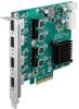 PCI Express x4, 4-Port USB 3.0 Expansion Card -- PCE-USB