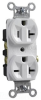 Combination Duplex Receptacle -- 5890-W - Image