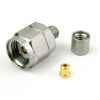 1.85mm Male (Plug) Connector For .047 SR Cable, Clamp/Solder -- SMC185-0355