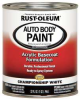 Auto Body Paint,Champ. White,1 Qt. -- 6PEP9