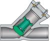 Pressure Seal Y-pattern Piston Check Valves