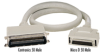Centronics 50 Male to Micro D 50 Male Cables, 10-ft. (3.0-m) -- EVMSC02-0010-MM - Image