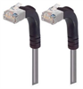 Shielded Category 6 Right Angle Patch Cable, Right Angle Up/Right Angle Up, Gray, 7.0 ft -- TRD695SRA5GRY-7 -Image